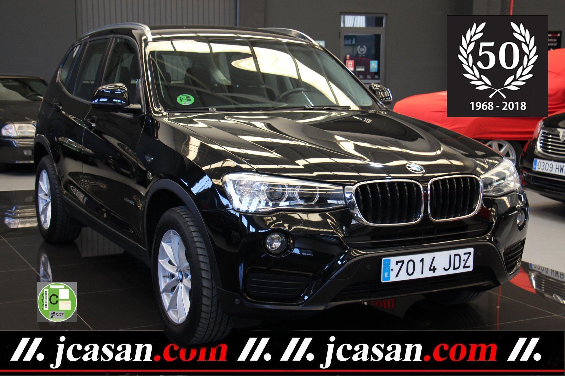 BMW X3 SDRIVE 1.8d 150 CV 6 Vel
