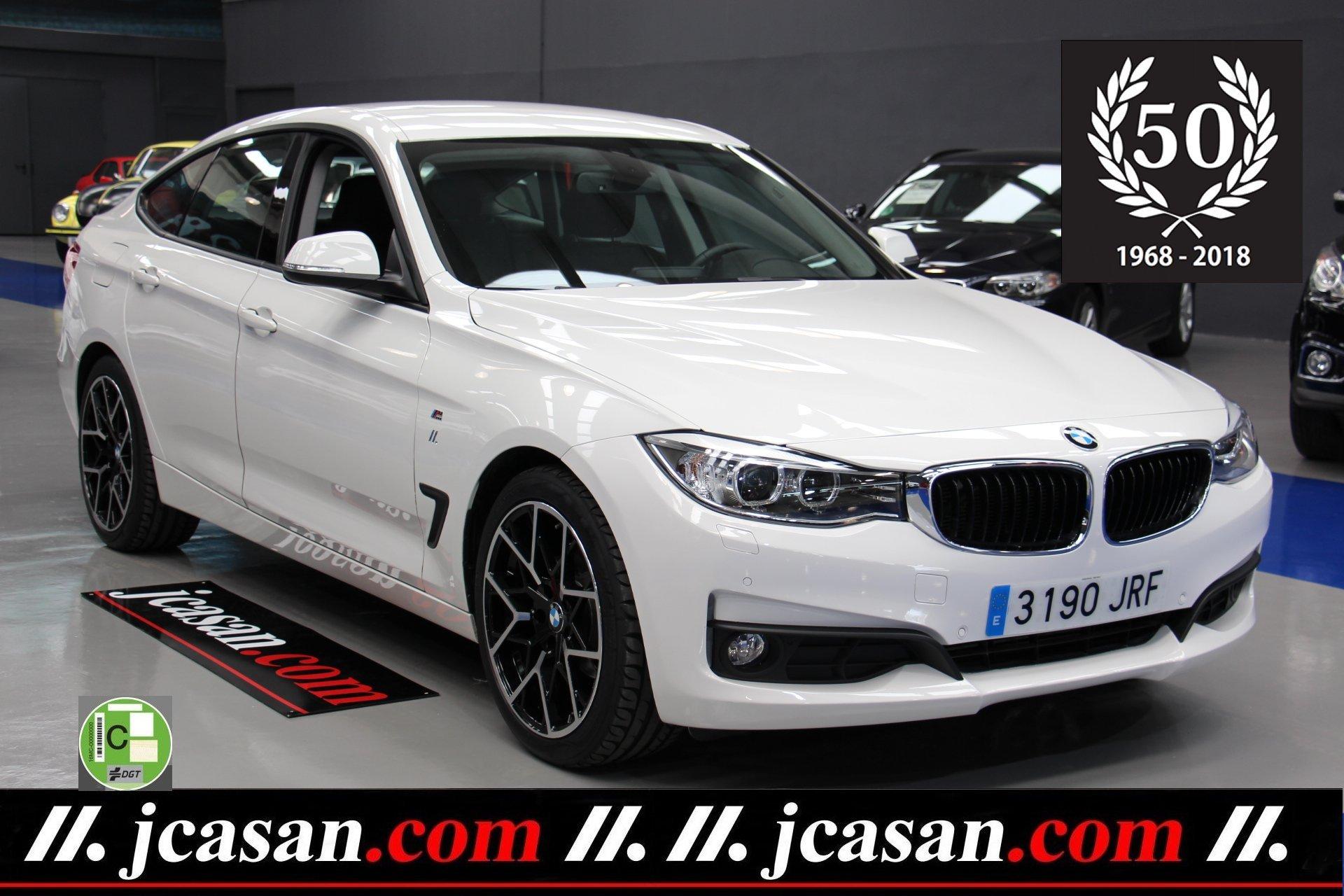 BMW 318d GT 2.0d 150 CV E6 White